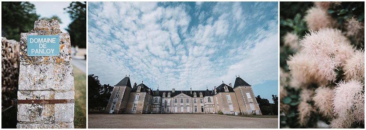 Mariage Chateau de Panloy préparatif