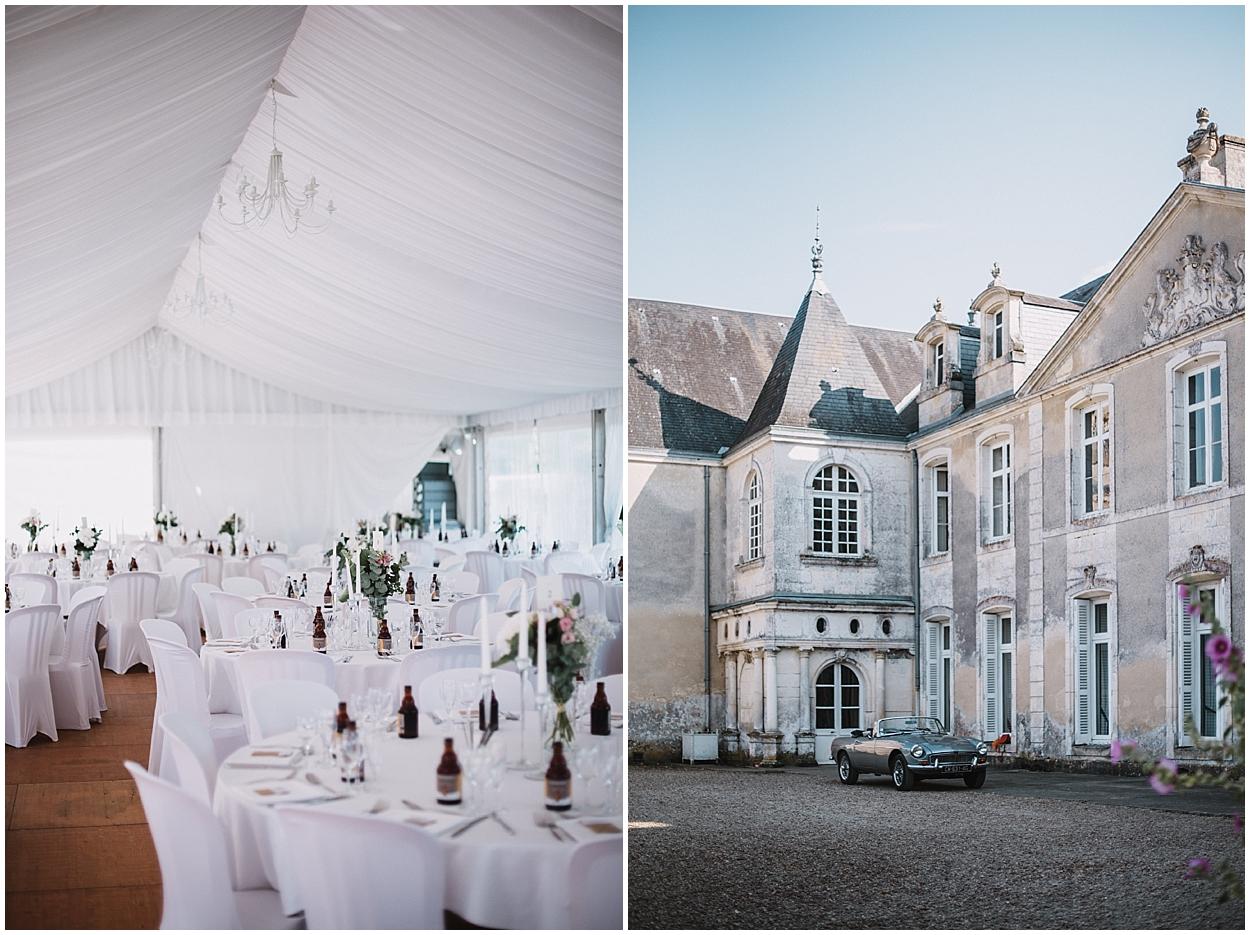 Mariage Chateau de Panloy préparatif cocktail
